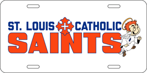 Saints License Plate