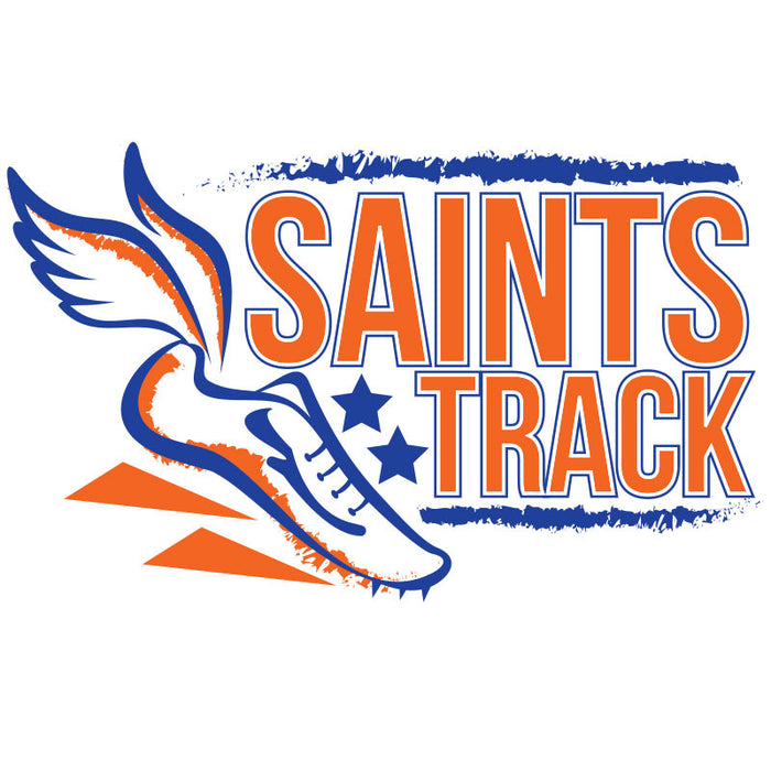 Saints Track Car Decal