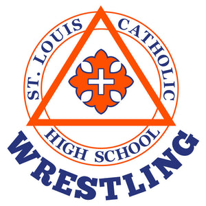 Saints Wrestling Car Decal
