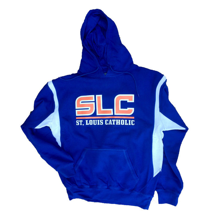 SLC Pullover Hooded Sweatshirt (Blue)