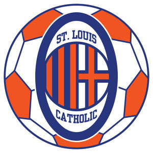 Saints Soccer Car Decal