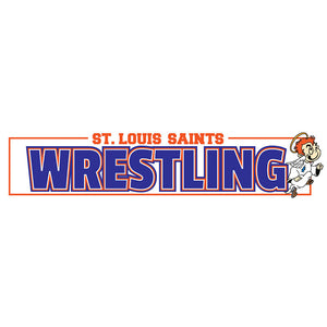 Wrestling Yard Sign Topper