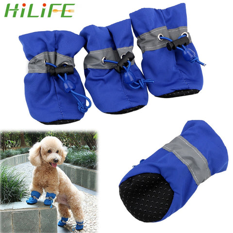 HILIFE Antiskid Puppy Shoes 4pcs