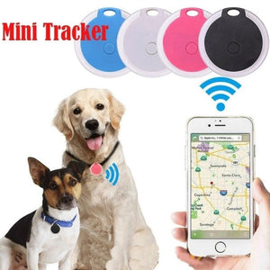 Waterproof  Smart Dog Pets GPS Tracker Anti-lost Alarm Tag Wireless Bluetooth Tracker Child Bag Wallet Key Finder Locator Alarm