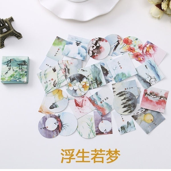 Mini Cartoon Paper Sticker Decoration