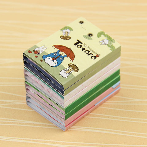 Totoro Melody 6 Folding Memo Pad Sticky Notes