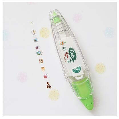 Press Type Decorative Correction Tape