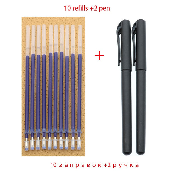 2 Bullet Gel Pen + (10 Cartridge)