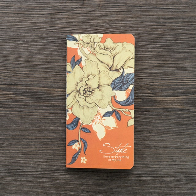 Floral Pocket Journal