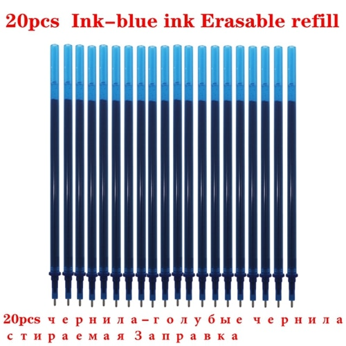 Erasable Pen with Refill 20 Pcs/Set