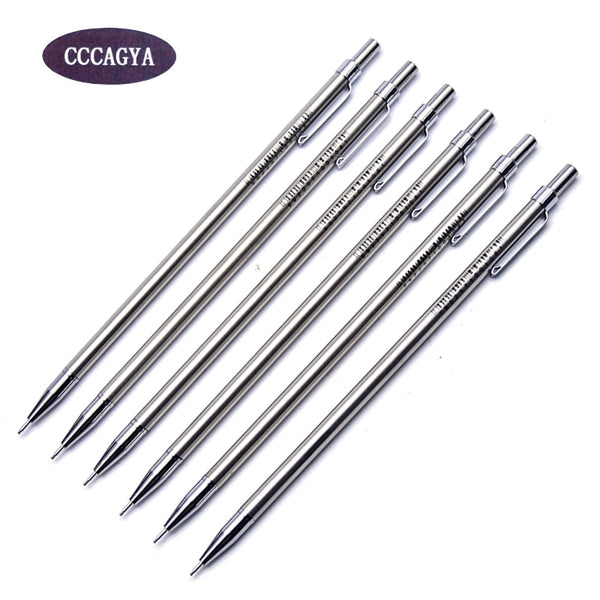 CCCAGYA C016 0.7mm mini automatic pencil metal Pen Learn Office stationery school writing gift pen & hotel business Writing pen
