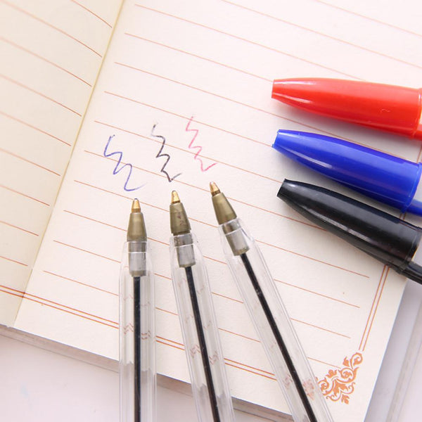 1.0mm Medium Ballpoint Pens (50pcs)