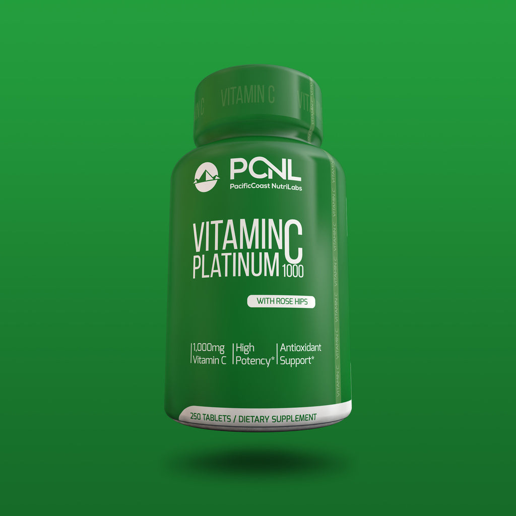 1,000 MG Vitamin C With Rose Hips