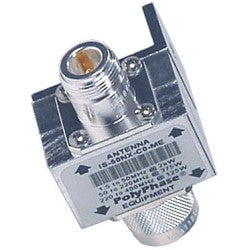 PolyPhaser - 1.5-400 MHz Flange Arrestor, N/F-N/M - IS-50NX-C0-ME