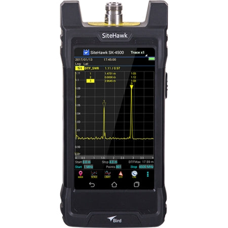 Bird Technologies - SiteHawk Cable & Antenna Analyzer, 1 MHz-4.5 GHz - SK-4500-TC