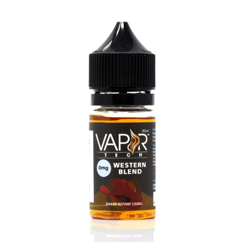 Vaportech Western Blend E-Liquid 30ml - VaporTech USA