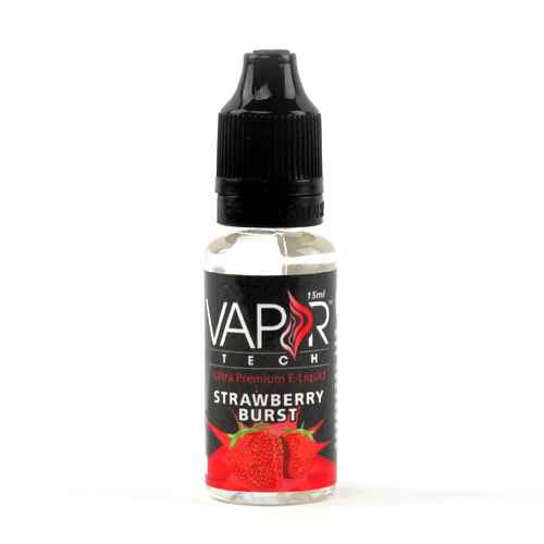Vaportech Strawberry Burst E-Liquid 15ml - VaporTech USA