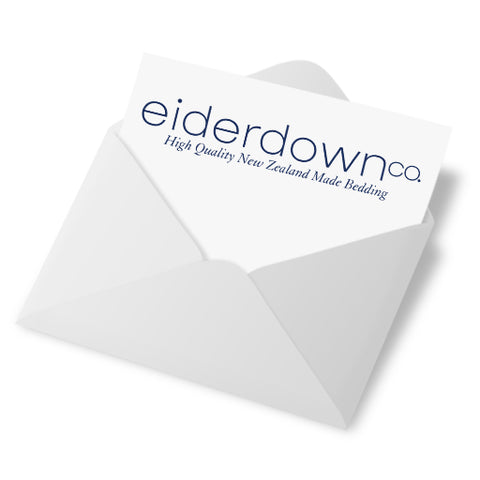 Eiderdown & Z Land Bedding Newsletter