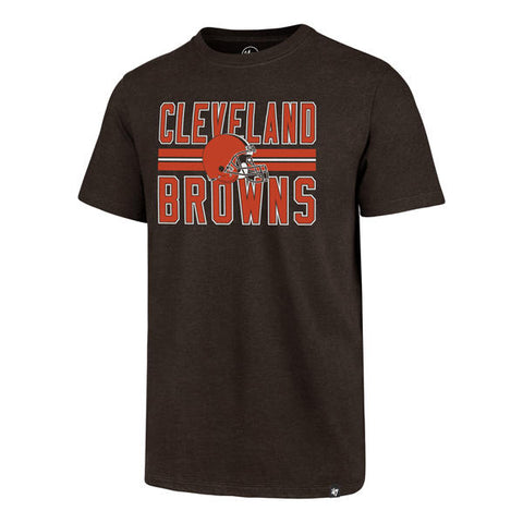 Cleveland Browns '47 Brand NFL Block Stripe Club Men's Shirt