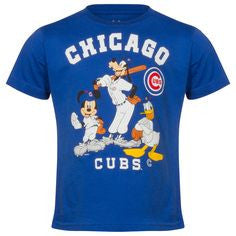 Chicago Cubs Majestic Blue Disney Shirt