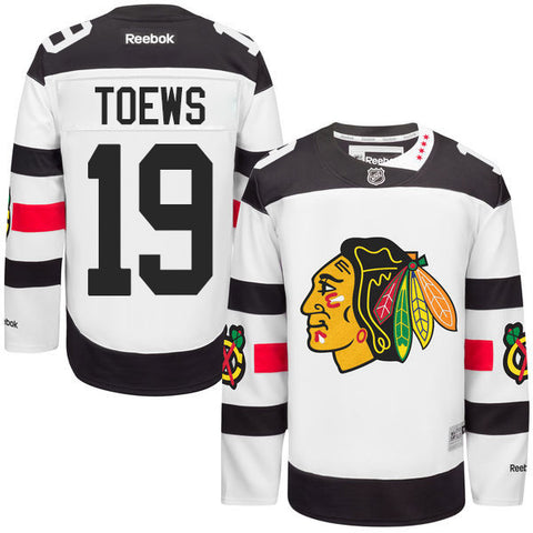 Jonathan Toews #19 Chicago Blackhawks NHL Reebok Youth 2016 Stadium Series Premier Jersey - Dino's Sports Fan Shop