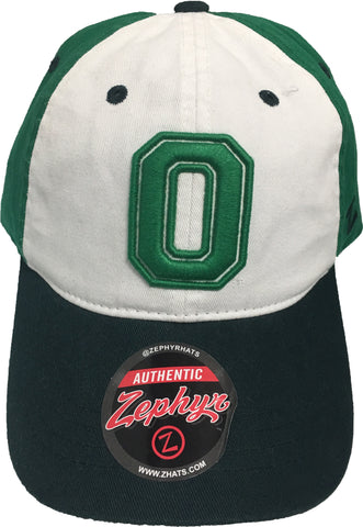 "Oregon Ducks Zephyr ""St. Patrick's Day"" Authentic One Size Adult Hat"