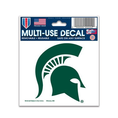 Michigan State Spartans Wincraft 4x5 Decal - Dino's Sports Fan Shop