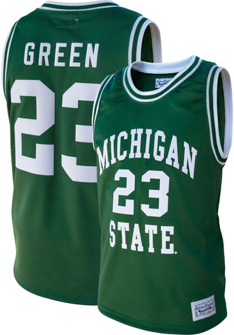 Draymond Green Michigan State Retro Brand Throwback Jersey