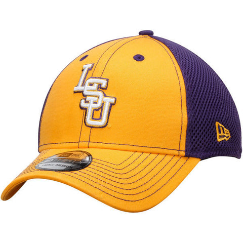 timeless design 660b7 ee1c6 ... cheapest lsu tigers ncaa new era neo 39thirty two tone adjustable hat  0f26d 5390e