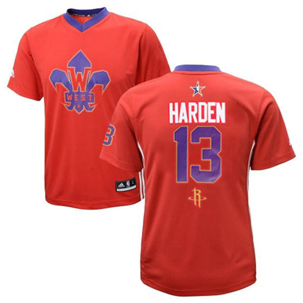 low priced b7a17 b6a8e James Harden #13 Houston Rockets adidas Western Conference All Star Jersey  Swingman