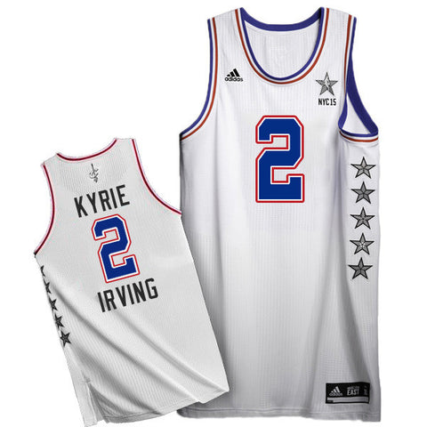 Kyrie Irving  2 Cleveland Cavaliers Adidas Eastern Conference Youth 2015  NBA All-star Game f2326a7a36e0