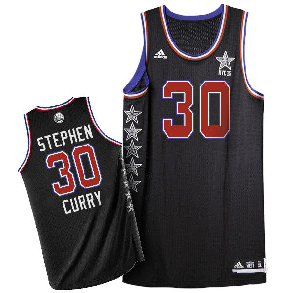 104a1fc30 Stephen Curry  30 Golden State Warriors adidas Youth 2015 NBA Swingman  Western Conference All-