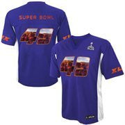 Youth Purple Super Bowl XLIX NFL Mid-Tier Jersey - Dino's Sports Fan Shop
