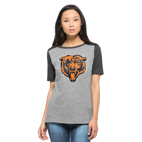 Chicago Bears '47 Brand NFL Logo Women's Shirt - Dino's Sports Fan Shop