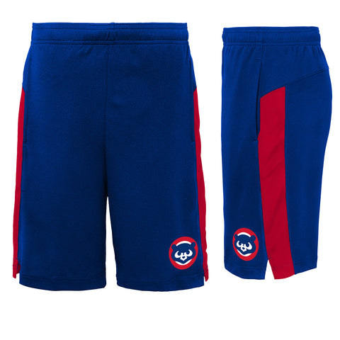 Chicago Cubs MLB Youth Basketball Shorts