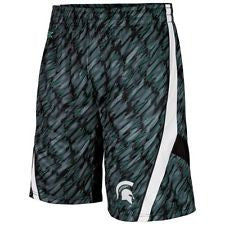 Michigan State Spartans Colosseum Youth Backcourt Shorts - Dino's Sports Fan Shop