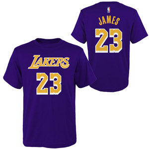 lowest price 1cb2e 39c29 Youth Lakers LeBron James Shirt Jersey