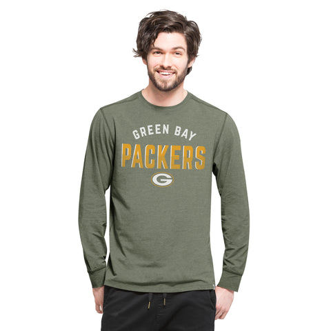 Green Bay Packers '47 Brand Letters Forward Men's Shirt - Dino's Sports Fan Shop