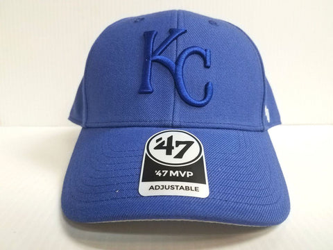Kansas City Royals '47 Brand MVP Velcro Adjustable Hat
