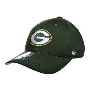 Green Bay Packers '47 Brand Basic Green Youth Hat