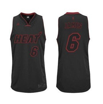 LeBron James #6 Miami Heat adidas Originals Youth Swingman Jersey - Dino's Sports Fan Shop
