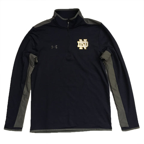 Notre Dame Fighting Irish Under Armour Survival Quarter Zip Pullover - Dino's Sports Fan Shop