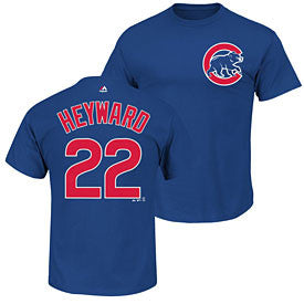 Jason Heyward #22 Chicago Cubs Majestic Youth Shirt - Dino's Sports Fan Shop