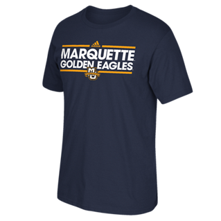 Marquette Golden Eagles Adidas Dassler Go-To Shirt - Dino's Sports Fan Shop