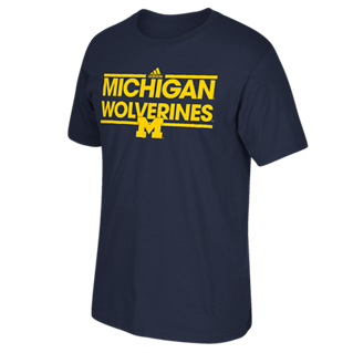 Michigan Wolverines Adidas Dassler Go-To Shirt - Dino's Sports Fan Shop