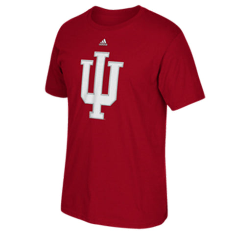 Indiana Hoosiers Adidas Victory Red Stitched Go-To Shirt - Dino's Sports Fan Shop