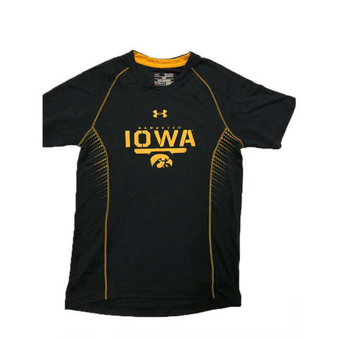 Iowa Hawkeyes Under Armour Youth Limitless Tech Shirt - Dino's Sports Fan Shop