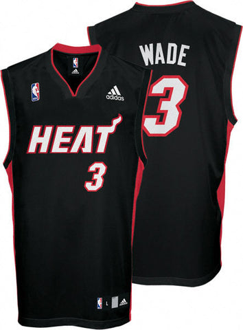 Dwyane Wade #3 Miami Heat Adidas Youth Swingman Road Jersey - Dino's Sports Fan Shop