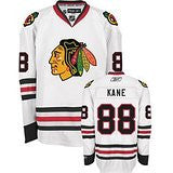 Patrick Kane #88 Chicago Blackhawks Reebok Premier White Away Youth Jersey - Dino's Sports Fan Shop