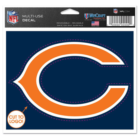 Chicago Bears Wincraft Logo 4x5 Decal - Dino's Sports Fan Shop